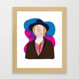 Qué Onda Beck Framed Art Print