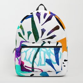 Daisy Days Blue Backpack