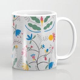 Kurbits – Blue Bell – Scandinavian Folk Art Coffee Mug