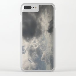 The rising sun Clear iPhone Case