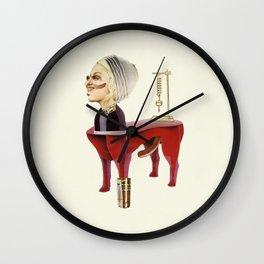 Centaurus artwork collage Wall Clock