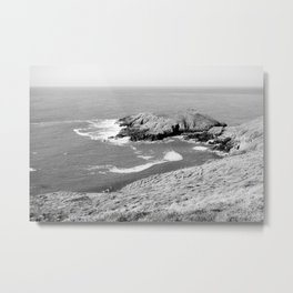 Dinas Bach (Little Fort) - North Wales Coast Metal Print