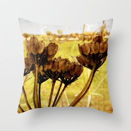 End of summer is near Throw Pillow
