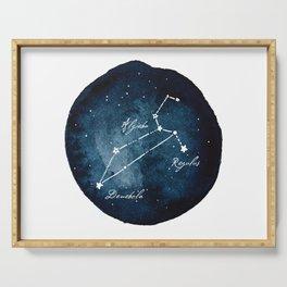 Leo Zodiac Constellation Serving Tray