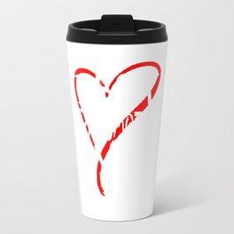 Best Grandmother Ever Love Heart Mother's Day T-Shirt Travel Mug