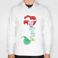 ariel Hoodies featuring ariel by Sara Eshak