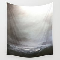 storm Wall Tapestries featuring Storm by cargline