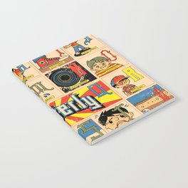 Odd Alphabet Chart Notebook
