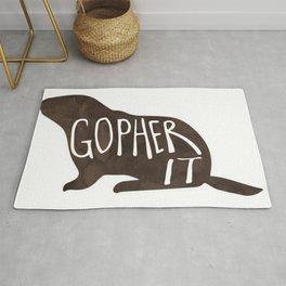 Gopher it! Rug