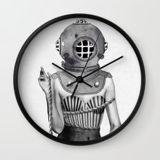 Sunken Wall Clock