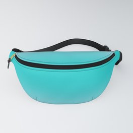 Pink Lace to Cyan Bilinear Gradient Fanny Pack