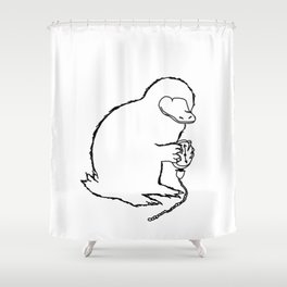 Niffler Shower Curtain