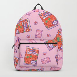 Strawberry Gummy Candy Backpack