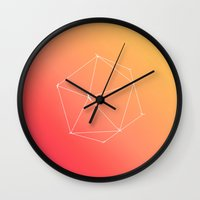 fly Wall Clocks featuring Fly by fly fly away