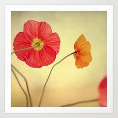 Les Jolies Fleurs Art Print