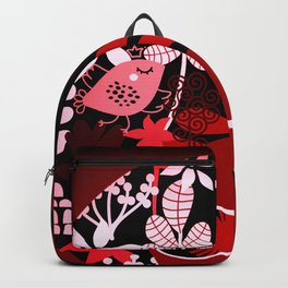 Afro Diva : Sophisticated Lady Red Backpack