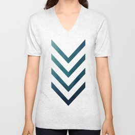 Blue Arrow Unisex V-Neck