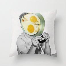 Goodmorning Throw Pillow