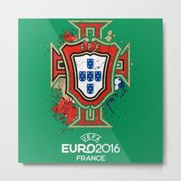 portugal,euro france 2016 Metal Print