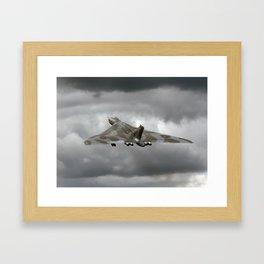 Vulcan to the sky Framed Art Print