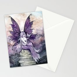 Letting Go Fairy Fantasy Art Stationery Cards