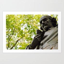 Shakespeare In The Park Art Print
