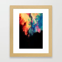 Painted Clouds V.I Framed Art Print