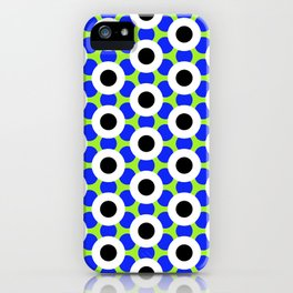 Modern Times 2.0 Pattern - Design No. 8 iPhone Case