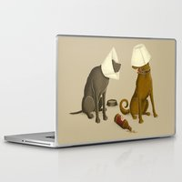 drunk Laptop & iPad Skins featuring Drunk Dog by Jonah Makes Artstuff