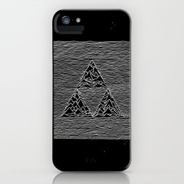 Triforce // Joy Division iPhone Case