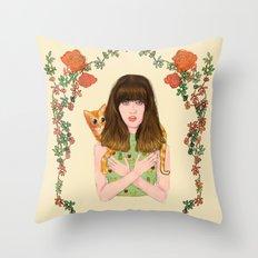 Chiquitita Throw Pillow