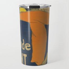 """Henri de Toulouse-Lautrec """"Eldorado: Aristide Bruant"""" Travel Mug"""