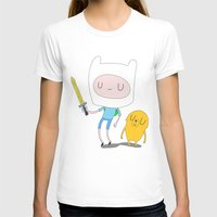 finn and jake T-shirts featuring Finn & Jake by Rod Perich
