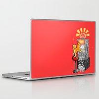 shiba Laptop & iPad Skins featuring Shiba Slots by  terrorbunnystudios