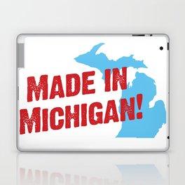 Made in Michigan Laptop & iPad Skin