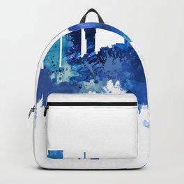 Kyiv Ukraine Skyline Blue Backpack