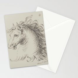 Head of a horse Stationery Cards