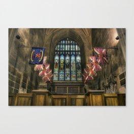 Church Flags Canvas Print