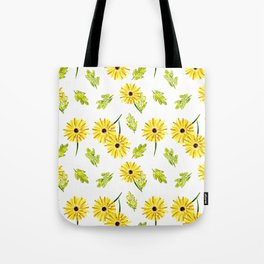 Daisy Collage Tote Bag