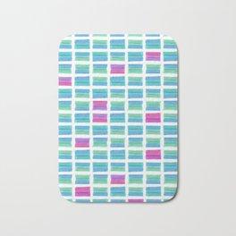 Colored Bubble Gums Pattern Bath Mat