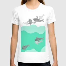 Ringed seal - Winter Arctic T-shirt