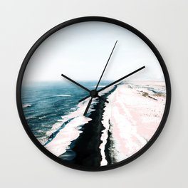 Pink Sand #society6 #decor #buyart Wall Clock