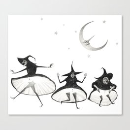 Witches' Sabbath Canvas Print
