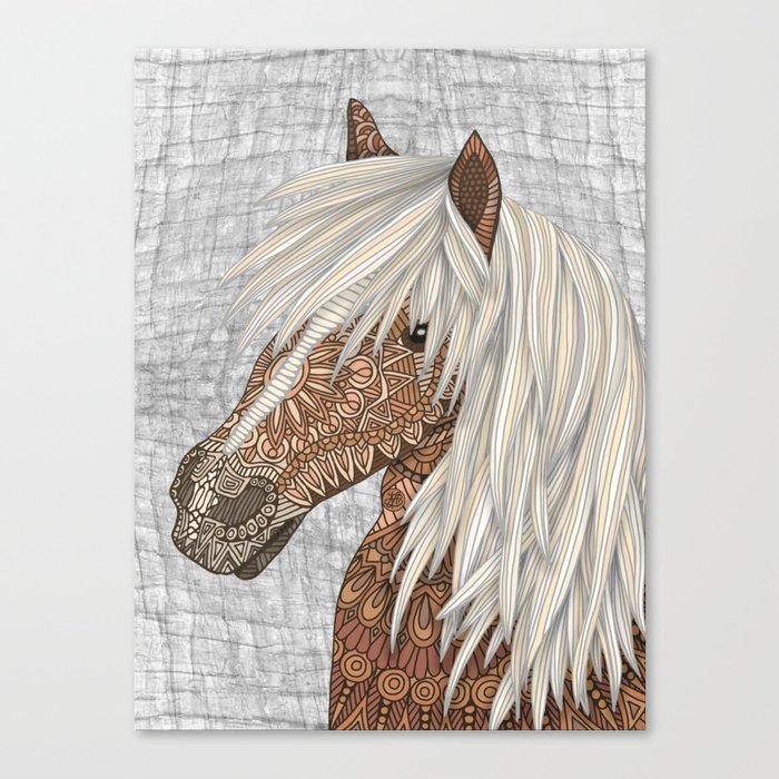 Haflinger Horse Leinwanddruck