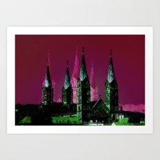 Bamberger Dom Art Print