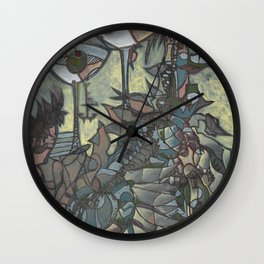 Afternoon Evaporators Wall Clock