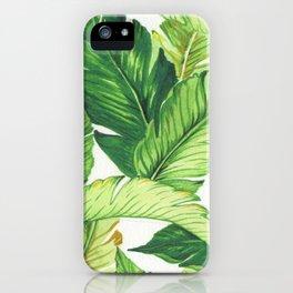 BANANA JUNGLE iPhone Case