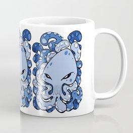 Octopus Squid Kraken Cthulhu Sea Creature - Little Boy Blue Coffee Mug