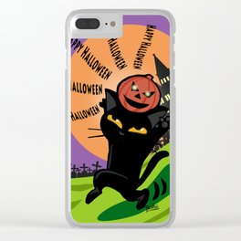 Halloween 2017 Clear iPhone Case