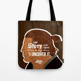 A Good Story Tote Bag